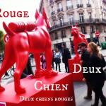 Deux Chien Rouge