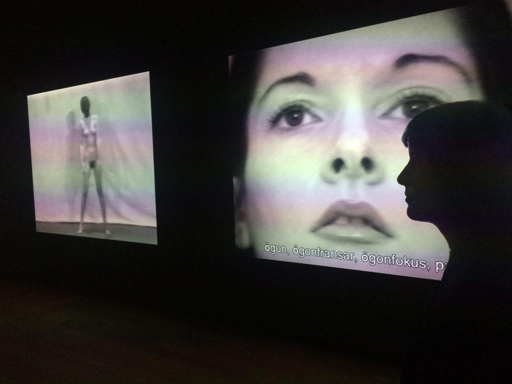 Marina Abramović Ludivine Thomas The Cleaner Moderna Museet / Sthlm 2017 03 02