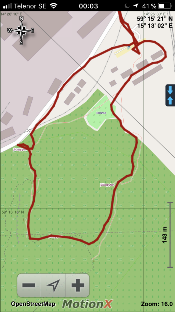 Sveafallen 3km