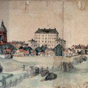 Örebro Stad Östra sidan Year 1786